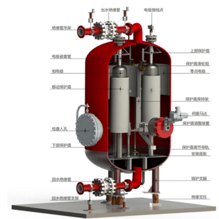高压浸没式热水电极龙8国际客户端